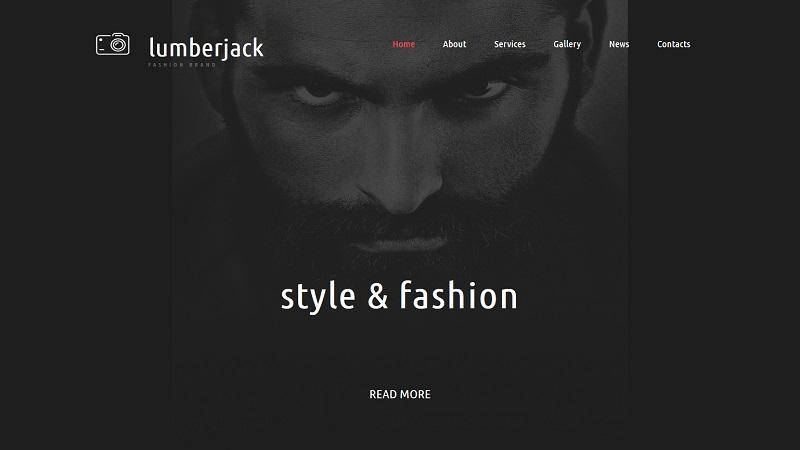 Online Fashion Brand Template