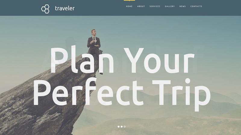 Travel Agency Website Design