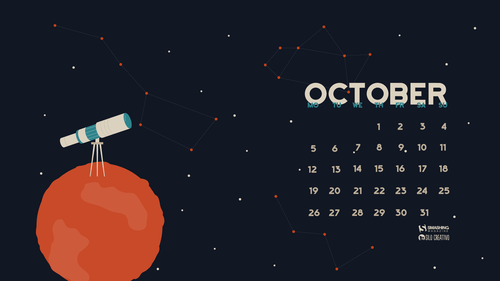Desktop Wallpaper Calendars: October 2015