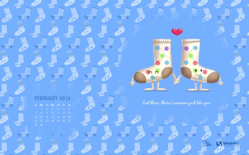 Desktop Wallpaper Calendars February 2016 The Branding Store