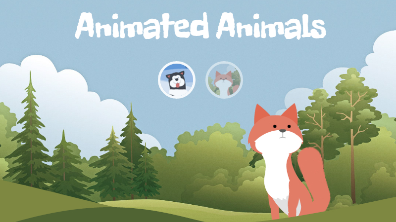 CSS & SVG Animated Animals