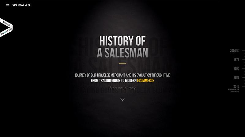 History of a Salesman