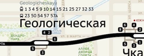 The Story Behind The Ekaterinburg Metro Map