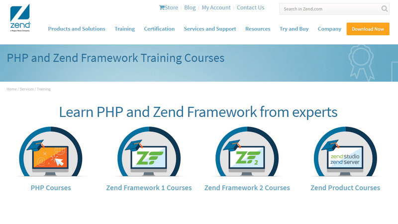 PHP and Zend Framework Training Courses