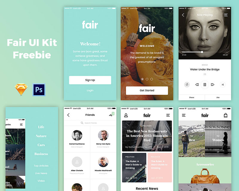 Fair UI Kit