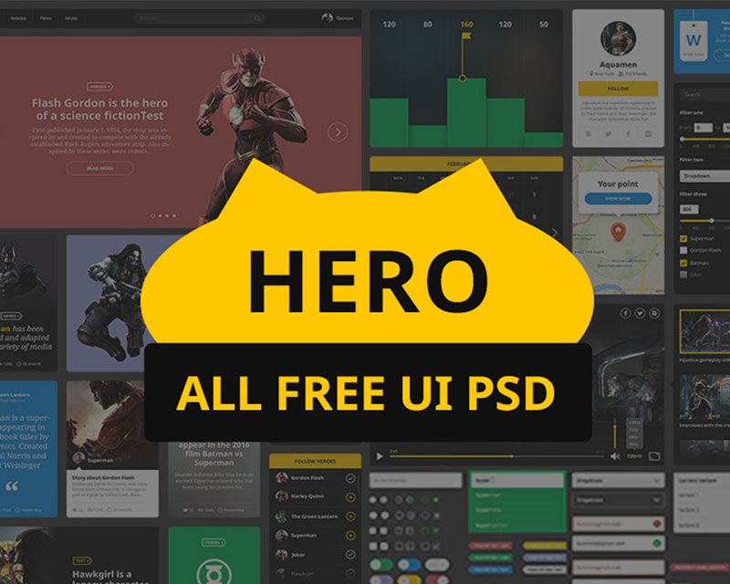 Hero UI Kit