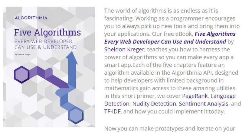 Five Algorithms Every Web Developer Can Use and Understand