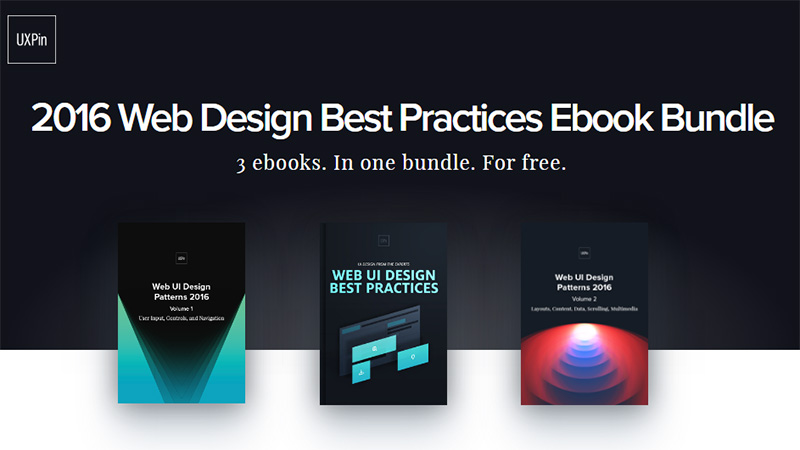 2016 Web Design Best Practices Ebook Bundle