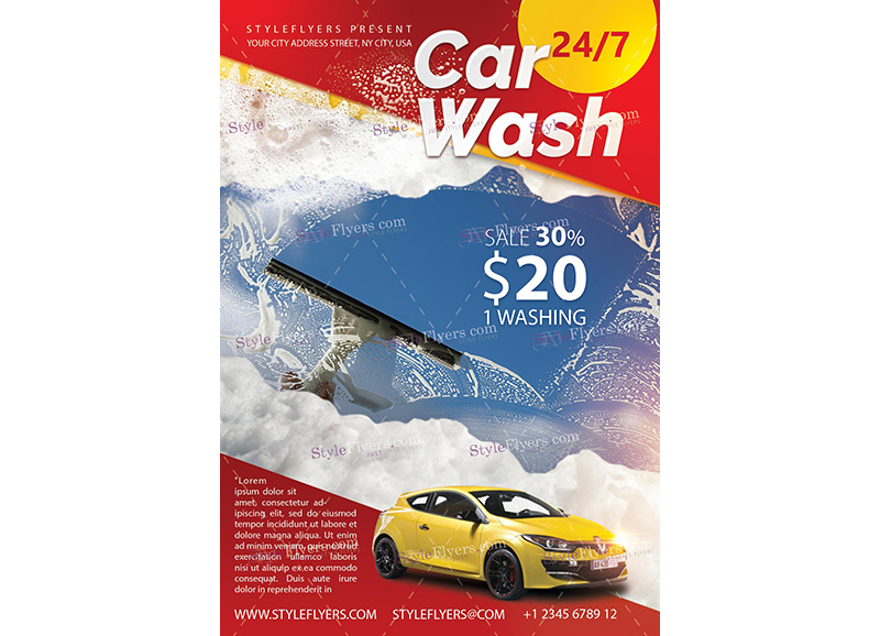 Car Wash Template 1