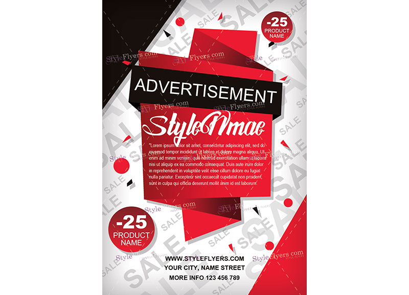 Advertisement Services Template 2