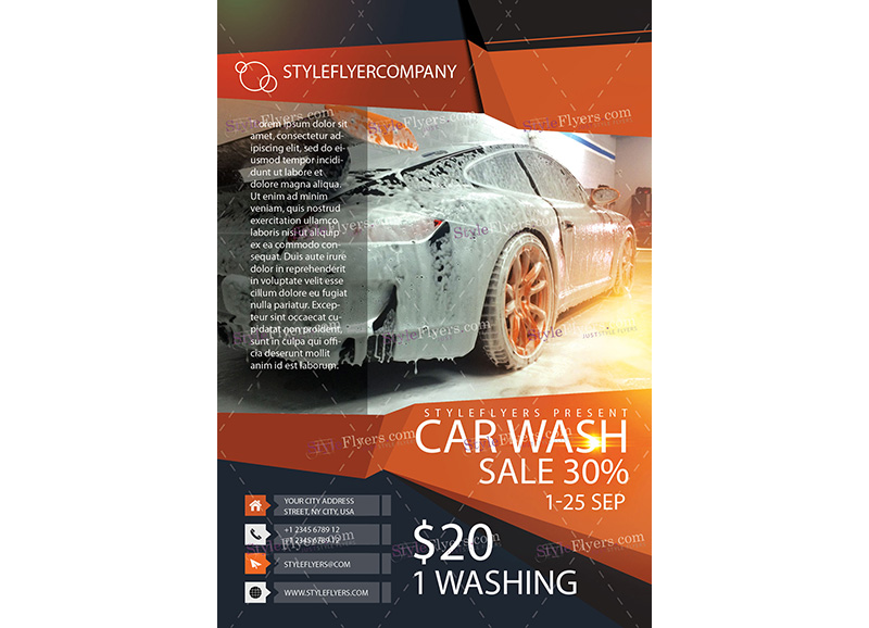 Car Wash Template 2