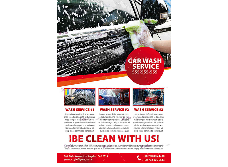 Car Wash Template 3