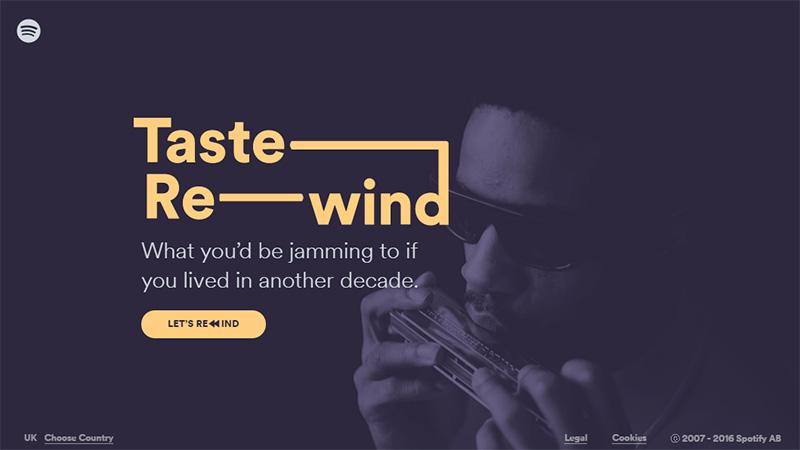 Taste Rewind
