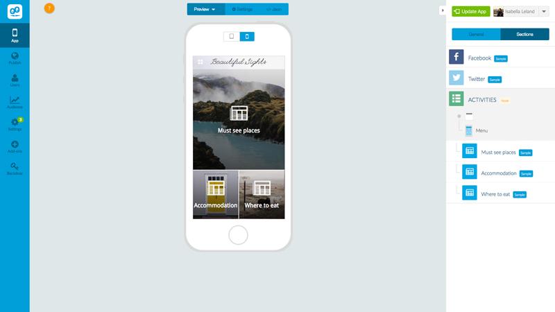 Custom Mobile Design with the GoodBarber App Builder