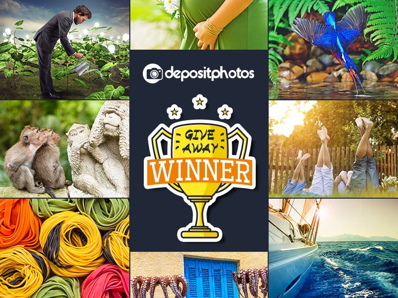 Giveaway: 1 Year Subscription Worth $ 299 From Depositphotos