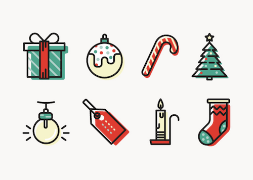 Christmas Goodies: Free Winter- And Holiday-Inspired Icon Sets