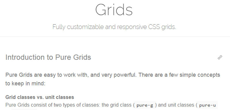 Pure Grids