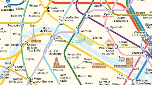 Redesigning The Paris Metro Map
