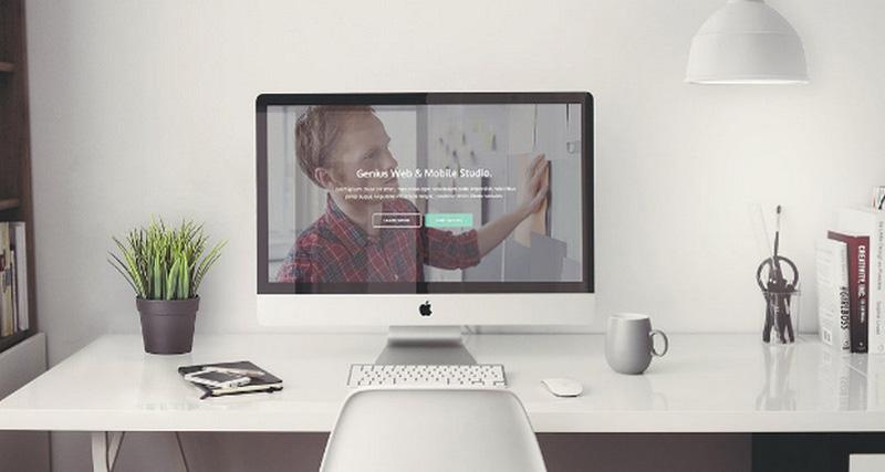 Genius – Minimal HTML Template