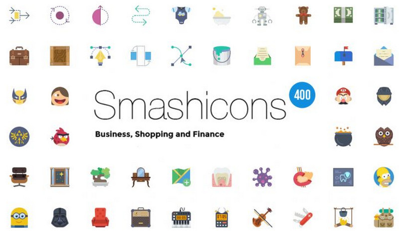 400 Shop Business Finance Icons