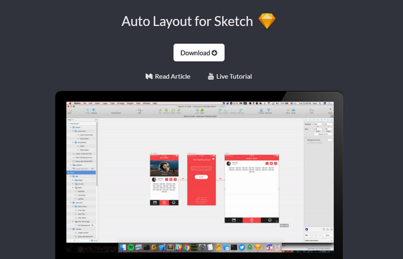 Auto Layout for Sketch