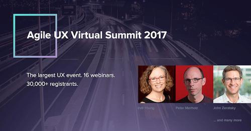 Agile UX Virtual Summit