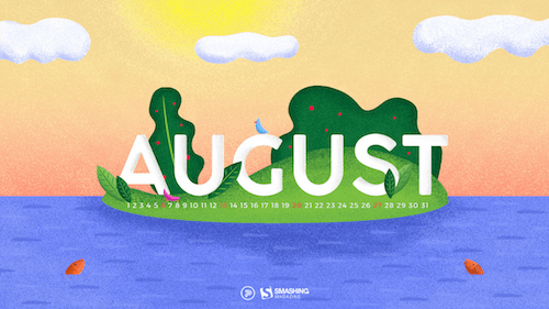 Desktop Wallpaper Calendars August 2017