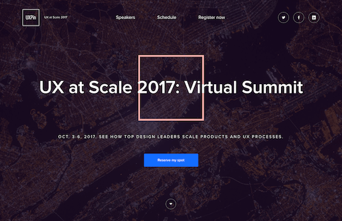 UX At Scale 2017: Free Webinars To Get Scaling Design Right