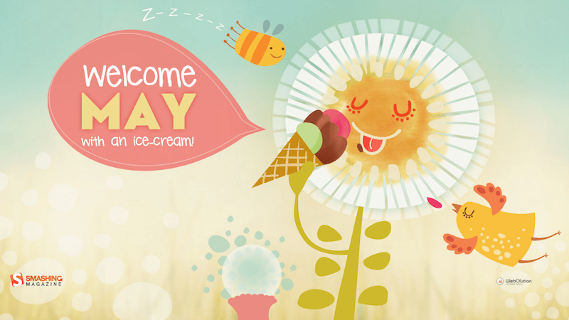 Welcome May With An Ice Cream!