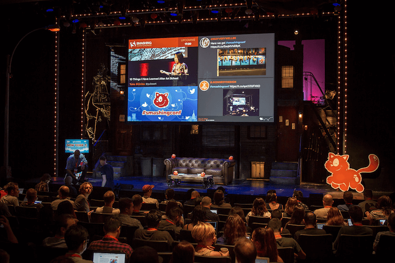 SmashingConf at the New World Stages