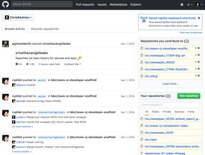 GitHub without JavaScript