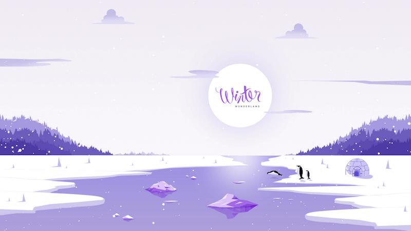 Christmas Wallpaper — Winter Wonderland