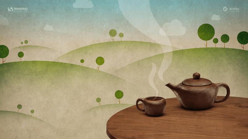 Happy Hot Tea Month!
