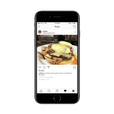 Zaftig's social media