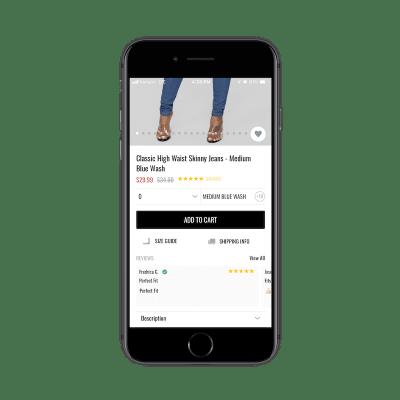Fashion Nova ecommerce