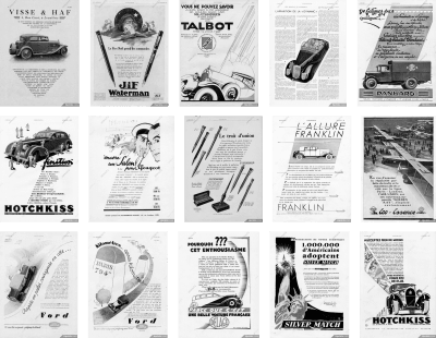 You can find inspiration in surprising places, such as these vintage advertisements.