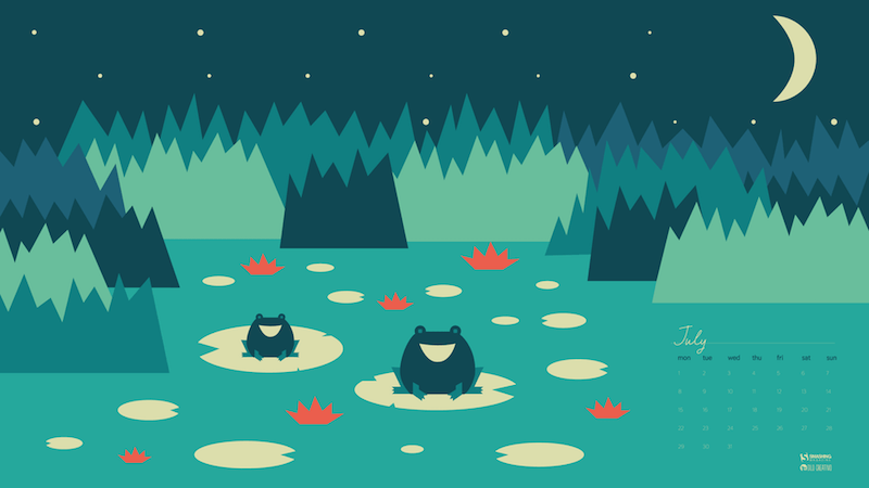 Frogs In The Night