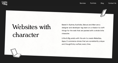 An example of Space Grotesk in use