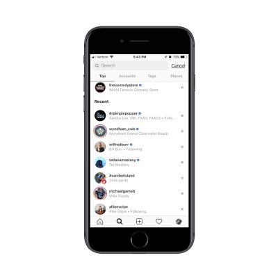 Instagram trust mark