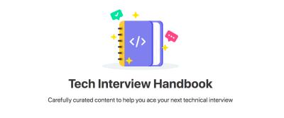 Tech Interview Handbook