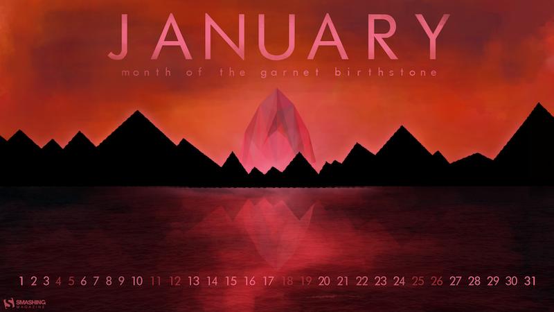 Month of the Garnet Birthstone