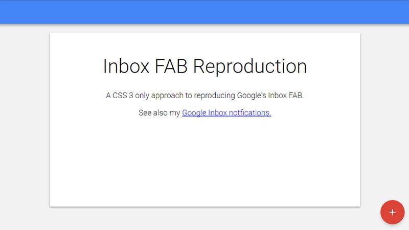 1-CSS3OnlyReproductionoftheGoogleInboxFAB