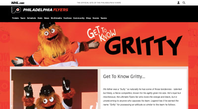 Get to Know Gritty fan page