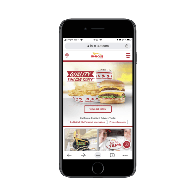 innoutburger-restaurant-website-on-mobile